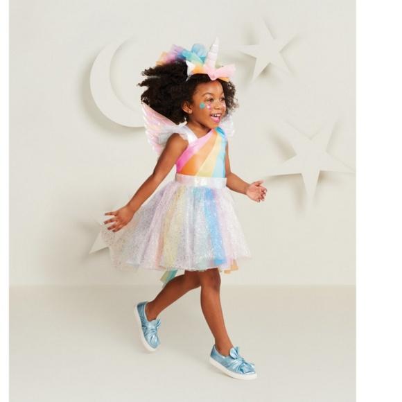 6a906ae927583 Rainbow Unicorn Girl's Costume TODDLER 18-24M NWT